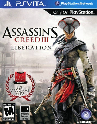 Assassin's Creed III: Liberation - PS Vita