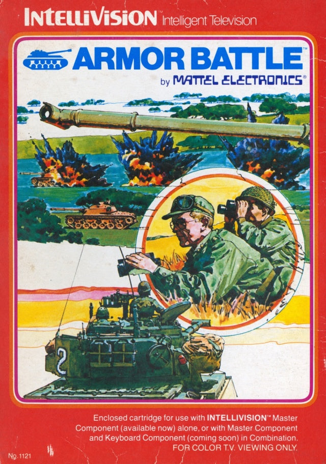 Armor Battle - Intellivision [USED]