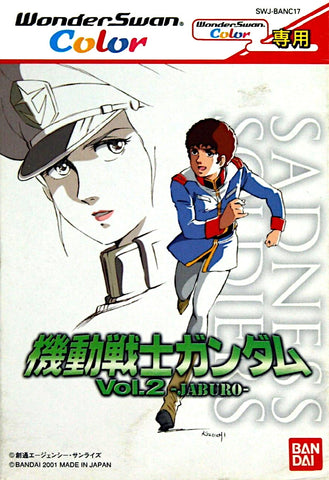 Kidou Senshi Gundam Vol. 2 Jaburo - WonderSwan Color (Japan)
