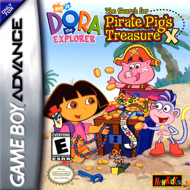 Dora the Explorer: The Search for Pirate Pig's Treasure - Game Boy Advance (Adventure, 2002, US )
