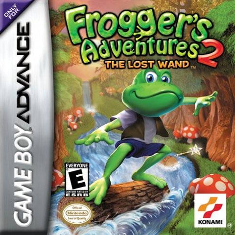 Frogger's Adventures 2: The Lost Wand - Game Boy Advance (AVG, 2002, US )