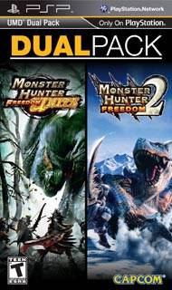 Monster Hunter Freedom 2 + Monster Hunter Freedom Unite UMD Dual Pack - PSP