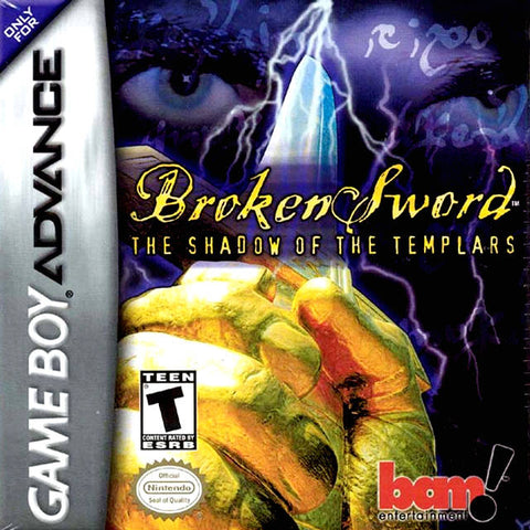 Broken Sword: The Shadow of the Templars - Game Boy Advance [USED]
