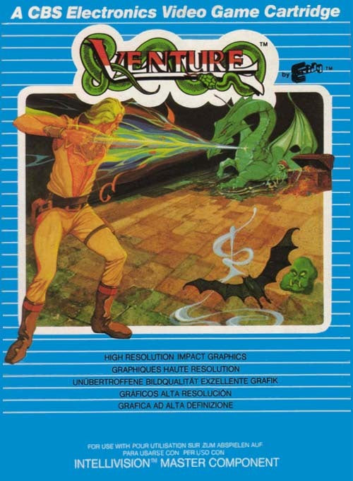 Venture - Intellivision [USED]
