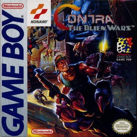 Contra: The Alien Wars - Game Boy [USED]