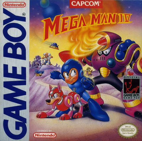 Mega Man IV - Game Boy [USED]
