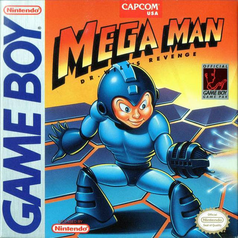 Mega Man: Dr. Wily's Revenge - Game Boy [USED]