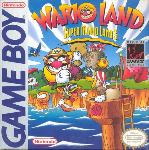 Super Mario Land 3: Wario Land - Game Boy