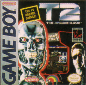 T2: The Arcade Game - Game Boy (Shooter, 1992, US )