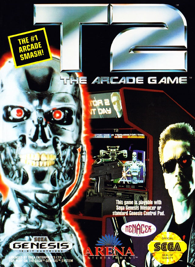 T2: The Arcade Game - SEGA Genesis [USED]