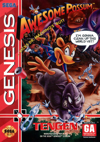 Awesome Possum - SEGA Genesis [USED]