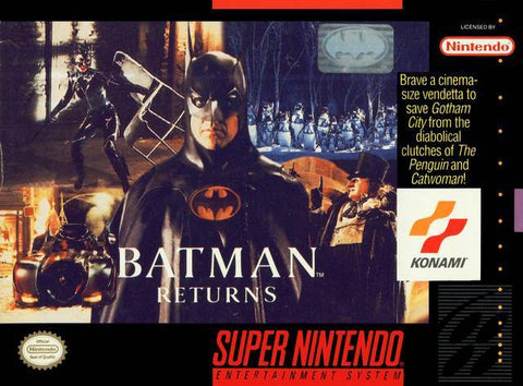 Batman Returns - Super Nintendo [USED]