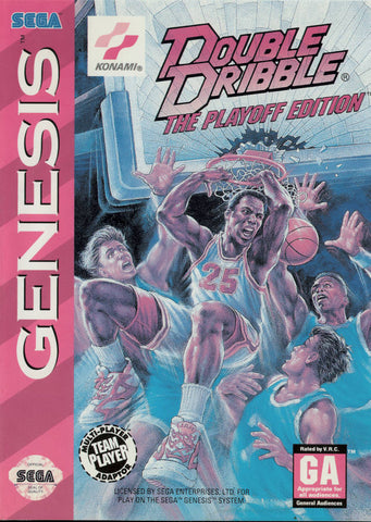 Double Dribble: The Playoff Edition - SEGA Genesis [USED]