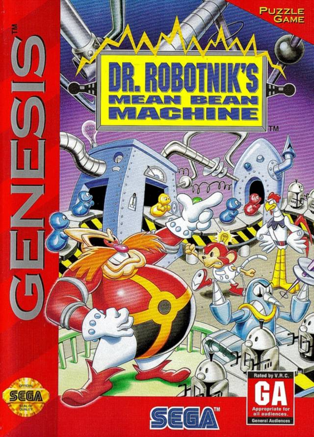 Dr. Robotnik's Mean Bean Machine - SEGA Genesis [USED]