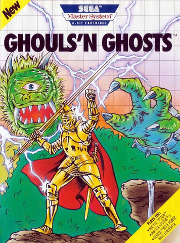 Ghouls 'n Ghosts - SEGA Master System [USED]