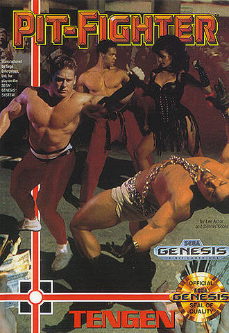 Pit-Fighter - SEGA Genesis [USED]
