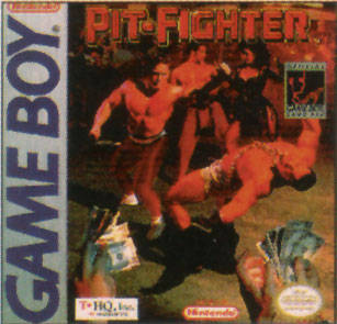 Pit-Fighter - Game Boy [USED]