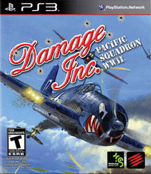 Damage Inc.: Pacific Squadron WWII - PlayStation 3