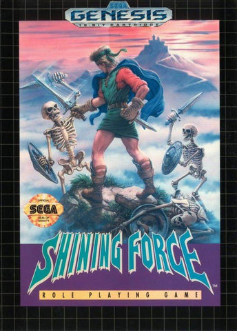 Shining Force - SEGA Genesis [USED]