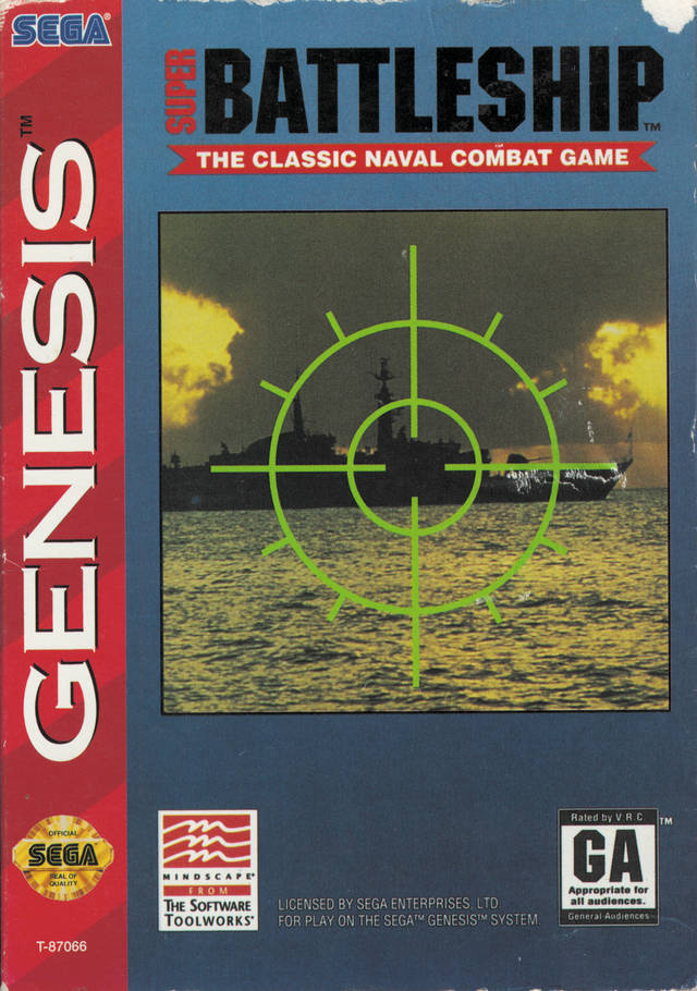 Super Battleship - SEGA Genesis [USED]