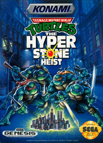 Teenage Mutant Ninja Turtles: The Hyperstone Heist - SEGA Genesis [USED]