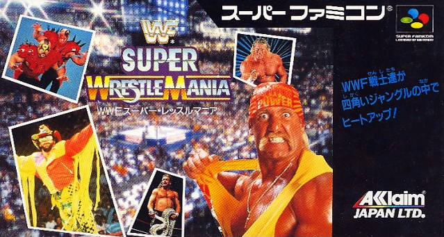 WWF Super WrestleMania - Super Famicom (Japan) [USED]