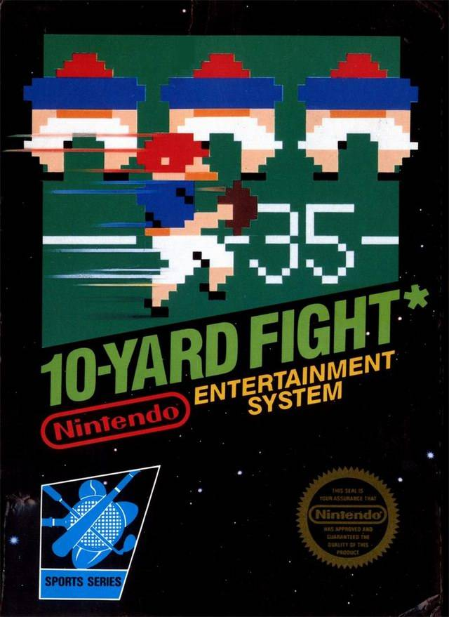 10-Yard Fight - Nintendo NES [USED]
