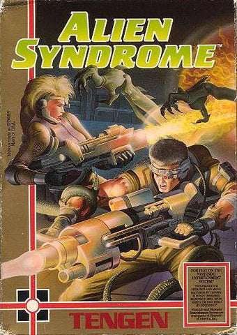 Alien Syndrome - Nintendo NES [USED]