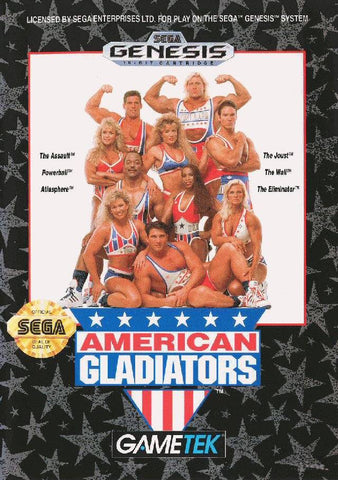 American Gladiators - SEGA Genesis [USED]
