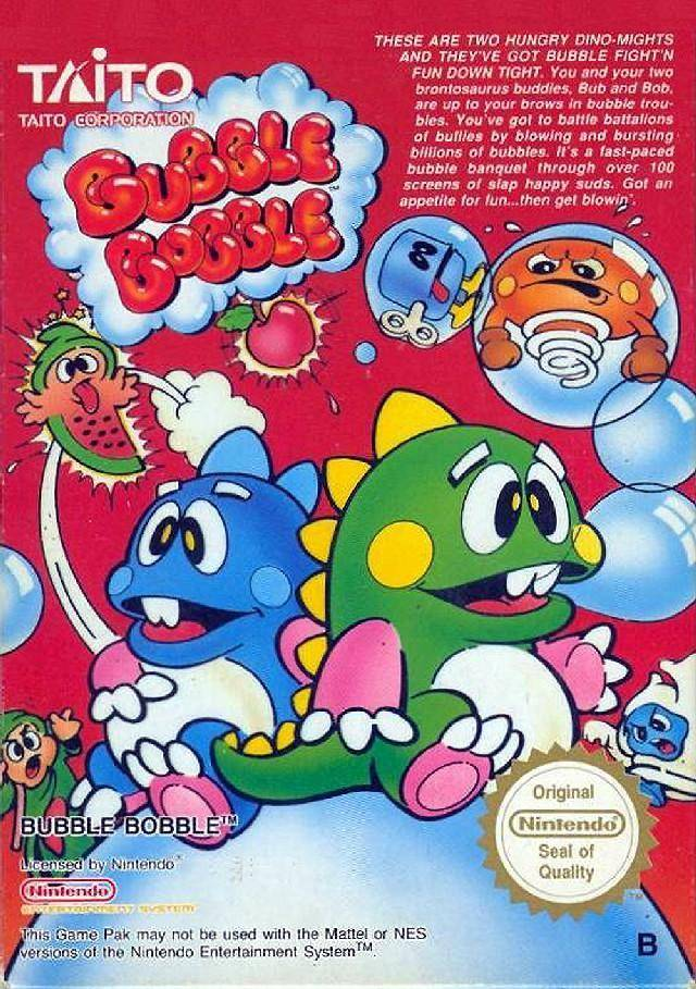 Bubble Bobble - Nintendo NES [USED]