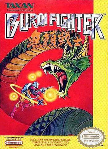 Burai Fighter - Nintendo NES [USED]