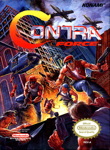 Contra Force - Nintendo NES [USED]