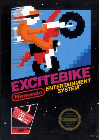 Excitebike - Nintendo NES [USED]