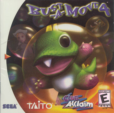 Bust-A-Move 4 - SEGA Dreamcast (PUZ, 2000) [USED]