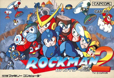 RockMan 2: Dr. Wily no Nazo - Nintendo Famicom (Japan) [USED]