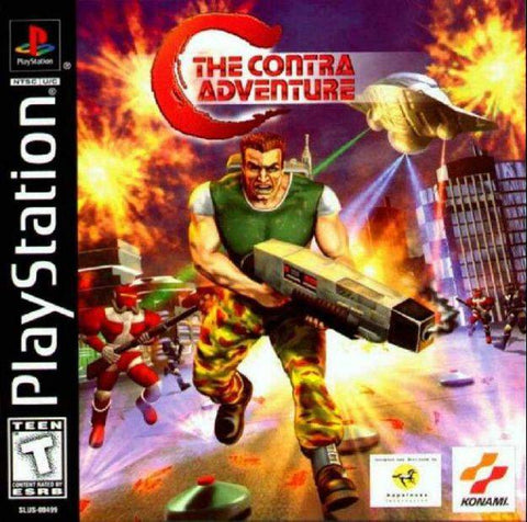 C: The Contra Adventure - PlayStation