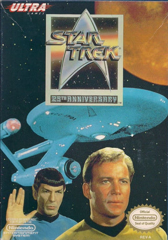 Star Trek: 25th Anniversary - Nintendo NES [USED]
