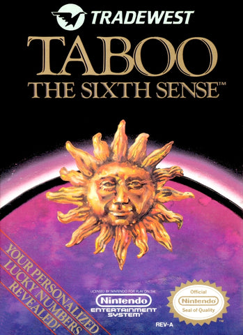 Taboo: The Sixth Sense - Nintendo NES [USED]