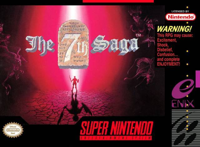 The 7th Saga - Super Nintendo [USED]