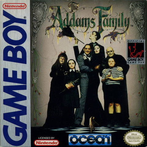 The Addams Family - Game Boy [USED]