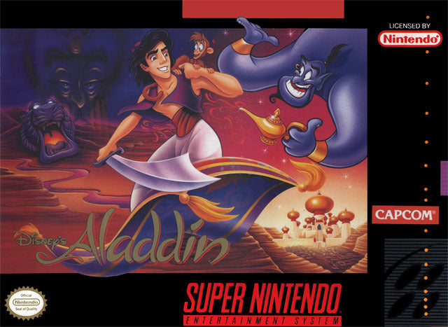 Disney's Aladdin - Super Nintendo [USED]