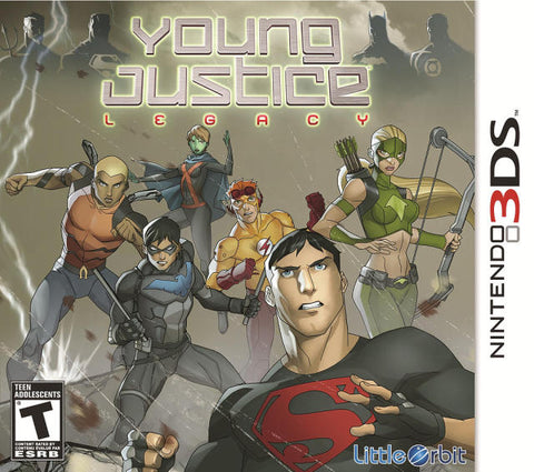 Young Justice: Legacy - Nintendo 3DS [NEW]