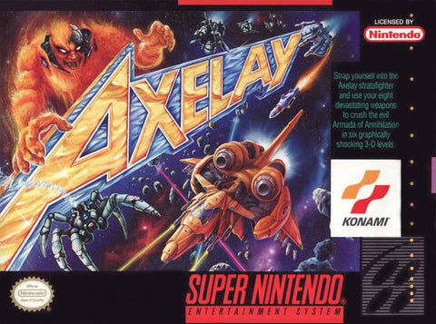 Axelay - Super Nintendo [USED]