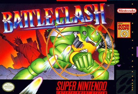 Battle Clash - Super Nintendo [USED]