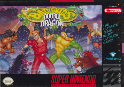 Battletoads & Double Dragon - Super Nintendo [USED]