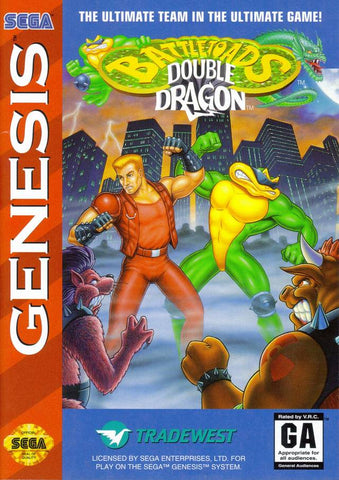 Battletoads / Double Dragon - SEGA Genesis [USED]