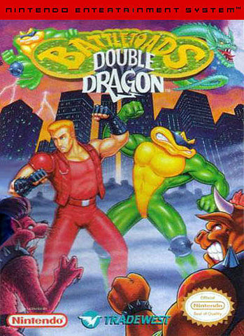 Battletoads & Double Dragon - Nintendo NES [USED]