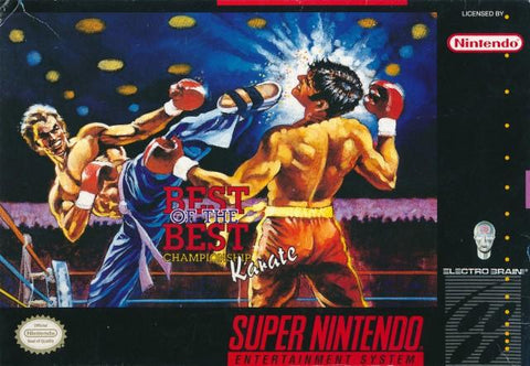 Best of the Best: Championship Karate - Super Nintendo [USED]