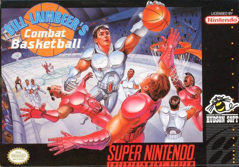 Bill Laimbeer's Combat Basketball - Super Nintendo [USED]