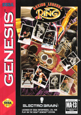 Boxing Legends of the Ring - SEGA Genesis [USED]
